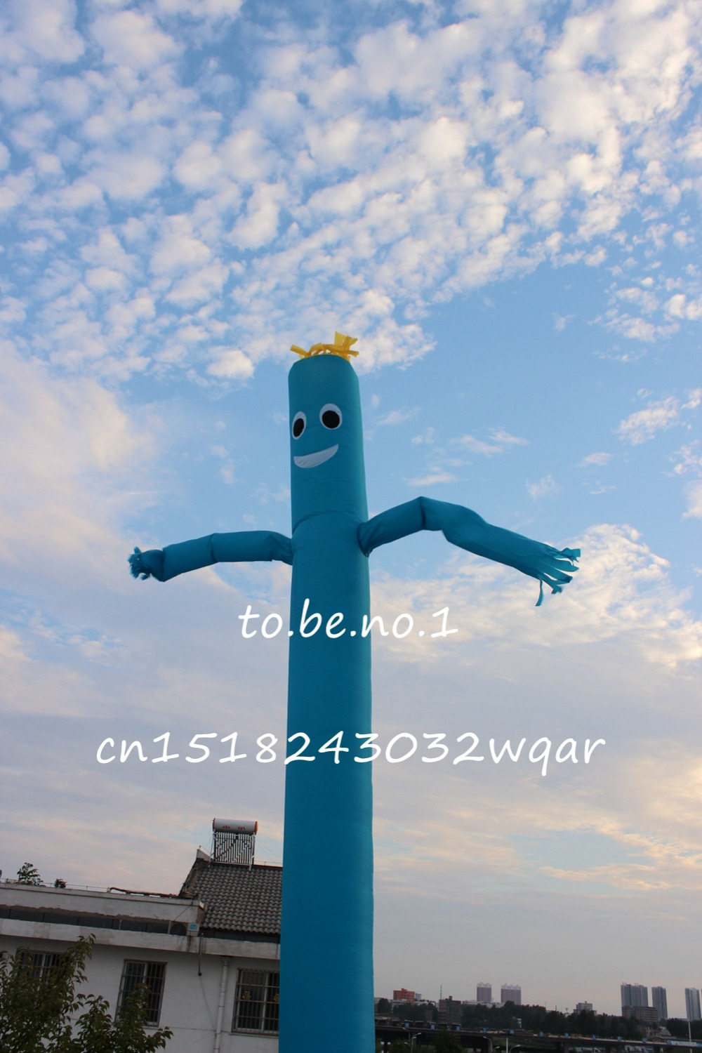 Inflatable Toys 6M 20FT Inflatable Tube Sky Dancer Air Dancer NO blower Inflatable Toys Shop ads sign ZS-006 цена и фото
