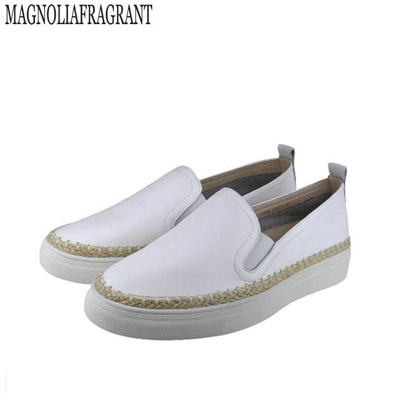 2017 Spring Autumn Women loafer Round Toe espadrilles Comfortable Hemp Bottom Frisherman Shoes Slip On Zapato Mujer z419