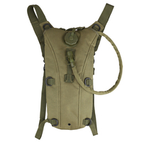 3L Tactical Outdoor Hydration Water Backpack Bag With Bladder 6 Colors