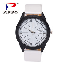 PINBO New Fashion Famous Brand Casual Big Dial Quartz Watch Men Military Watches Relogio Masculino Wristwatch Hot Sale