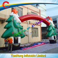 cheap inflatable arch for Christmas/Christmas tree inflatable arch