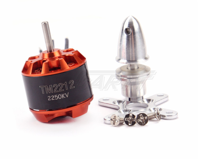 Freeshipping  GARTT TM 2212 2250KV Brushless Motor For Multirotor Quadcopter Hexa 4x emax mt2213 935kv 2212 brushless motor for dji f450 x525 quadcopter multirotor