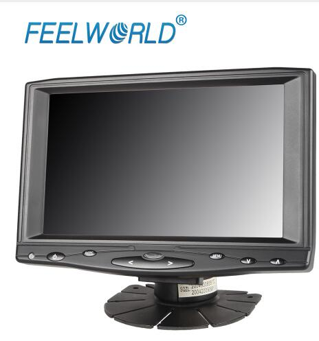 Feelworld FW619AHT 7 Inch 1024x600 IPS LCD Touch Screen Monitor with HDMI VGA AV Input 7 LCD Monitor