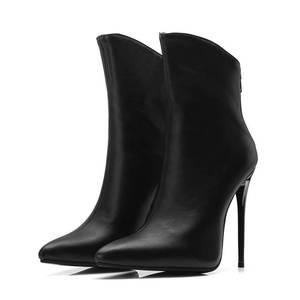 Image 2 - MORAZORA 2020 جديد وصول حذاء من الجلد للنساء أشار تو الخريف الشتاء الأحذية مثير عالية الكعب الأحذية موضة أحذية الحفلات امرأة