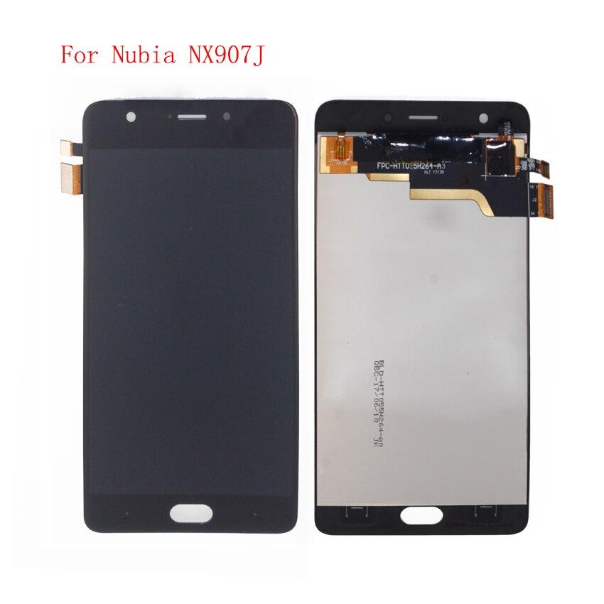 Haute Qualité Pour ZTE Nubia M2 Jouer NX907J LCD Affichage à L'écran Tactile Digitizer Assemblée Avec Des Outils Libres