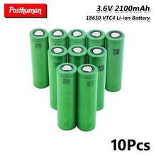 18650 battery 3.6V 2100mAh 30A US18650VTC4 18650 Lithium Li-ion Rechargeable Batteries bateria
