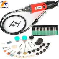 Tungfull Mini Electric Drill Rotary Tool Accessories Drilling Machine 32000rpm Variable Speed Rotary Tools For Dremel