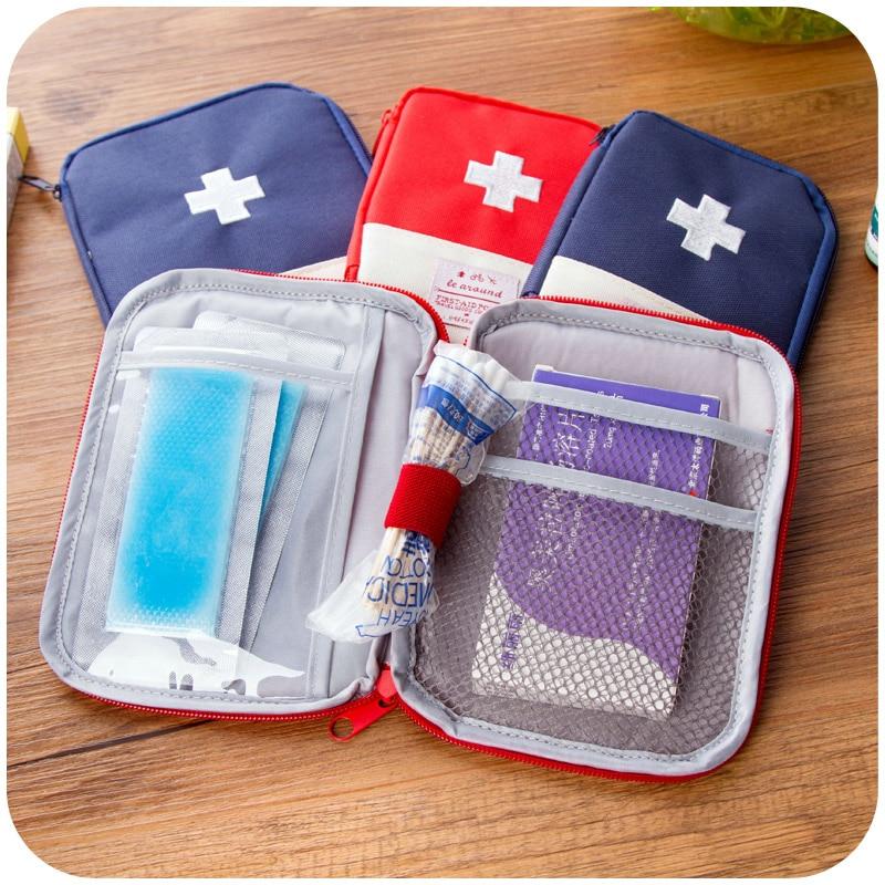 Small Portable Storage : Small portable mini kit travel pouch storage bag
