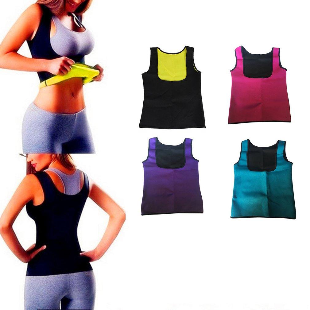 Womens Slimming Body Shaper Sport Trainer Yoga Sweat Sauna Shirt Body Shapers Shapewear Fitness Vest TopWomens Slimming Body Shaper Sport Trainer Yoga Sweat Sauna Shirt Body Shapers Shapewear Fitness Vest Top