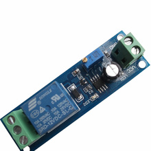 цена на NE555 time delay relay module, monostable switch / delay switch / delay on (12V) automotive electrical delay
