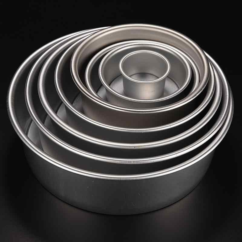 8 גדלים Nonstick בישול עגול עובש אפיית עוגת מחבת התחתון 2 4 5 6 7 8 9 10 inch אחת עובש עוגת סגסוגת אלומיניום חדשה עבור מכירה