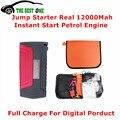 Emergency Car Jump Starter 12000mah Quick Start 12V Petrol Engine Multi-Function Car Power Bank Mobile Battery Charger Post Free
