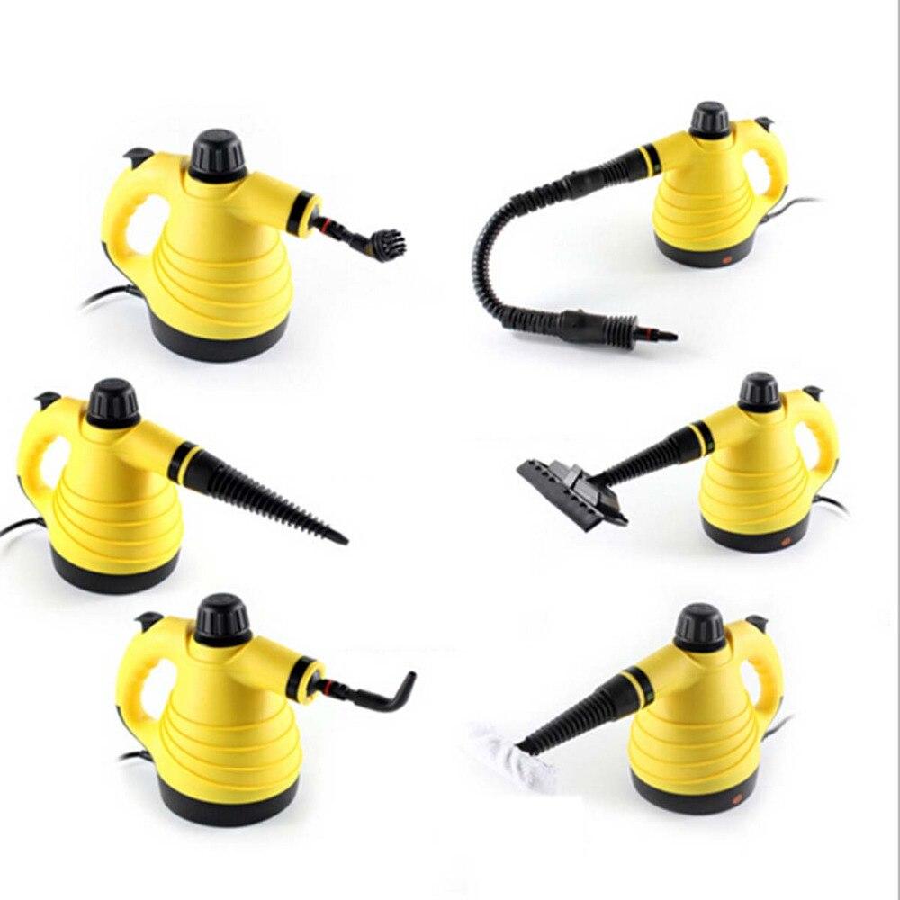 Portable Électrique Nettoyeur À Vapeur Multifonction Handy Vapeur Ménage Vapeur Cleaner 220 V Pour La Maison et voyage