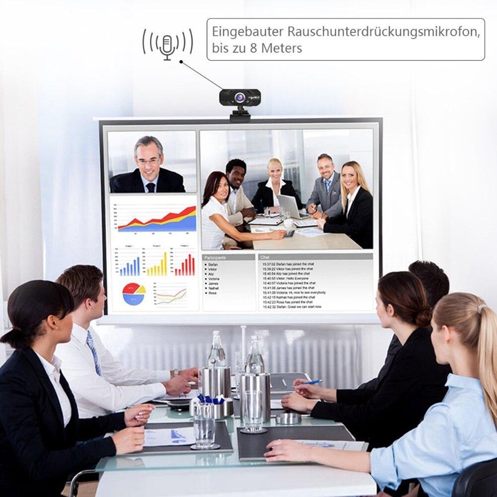 S60 1080 P HD Webcam USB écran large ordinateur Microphone caméra pour PC portable 2019new - 4