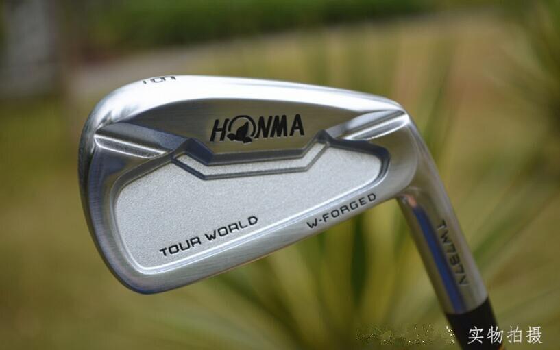 GOLF HONMA TW737V Golf high quality irons clubs 4 10 Golf shaft clubs set free shipping