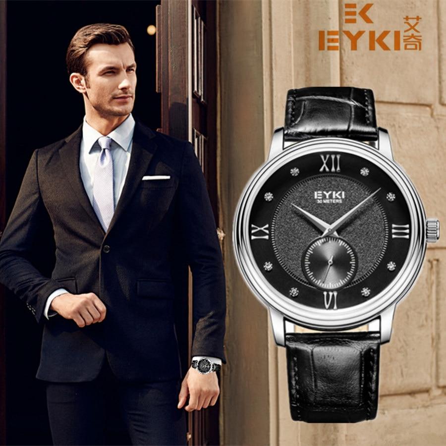2017 m. Viršuje Gamintojas Eyki Vyriški laikrodžiai Prabangūs - Vyriški laikrodžiai