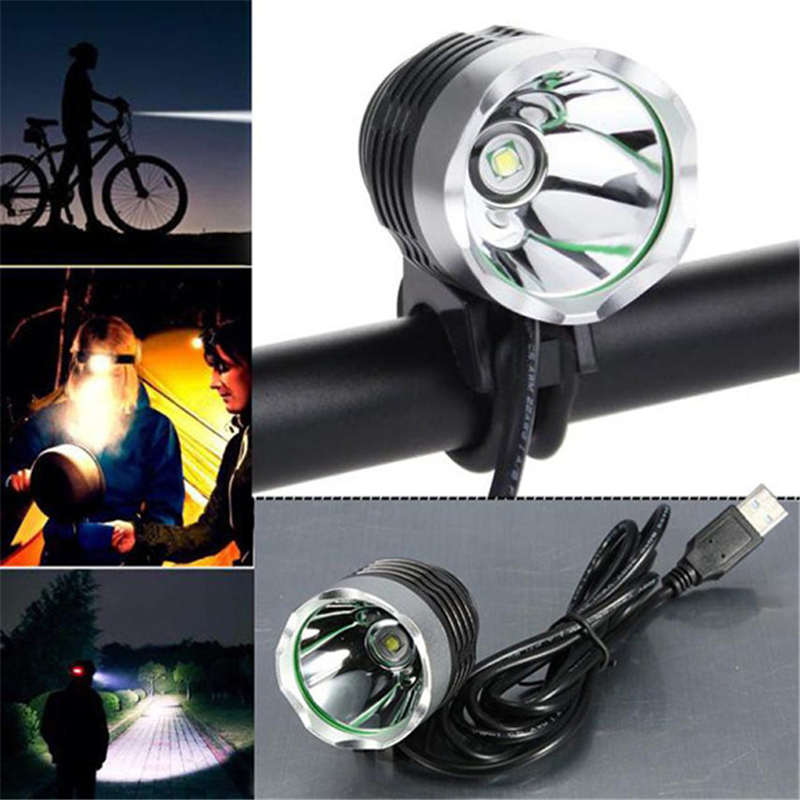 3000 Lumen XML T6 USB Interface LED Bike Bicycle Light Headlamp Headlight 3Mode outdoor sports Mountain Portable Flashlight p# sales hot sale 1800 lumen super bright xml t6 led bike light headlamp waterproof 3 mode led bicycle light flashlight