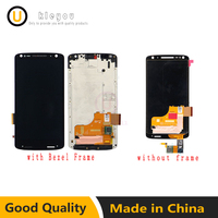 Black White 5 43 For Motorola Moto Droid Turbo 2 XT1580 XT1581 XT1585 LCD Display Touch
