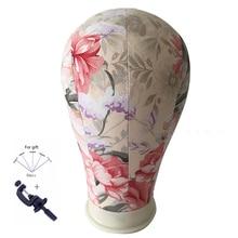 Coroană de pernă de perete de pernă Profesionale de peruca de a face model de floare Mannequin Model de manechin cap de moda reglabil stativ metal stand Holde