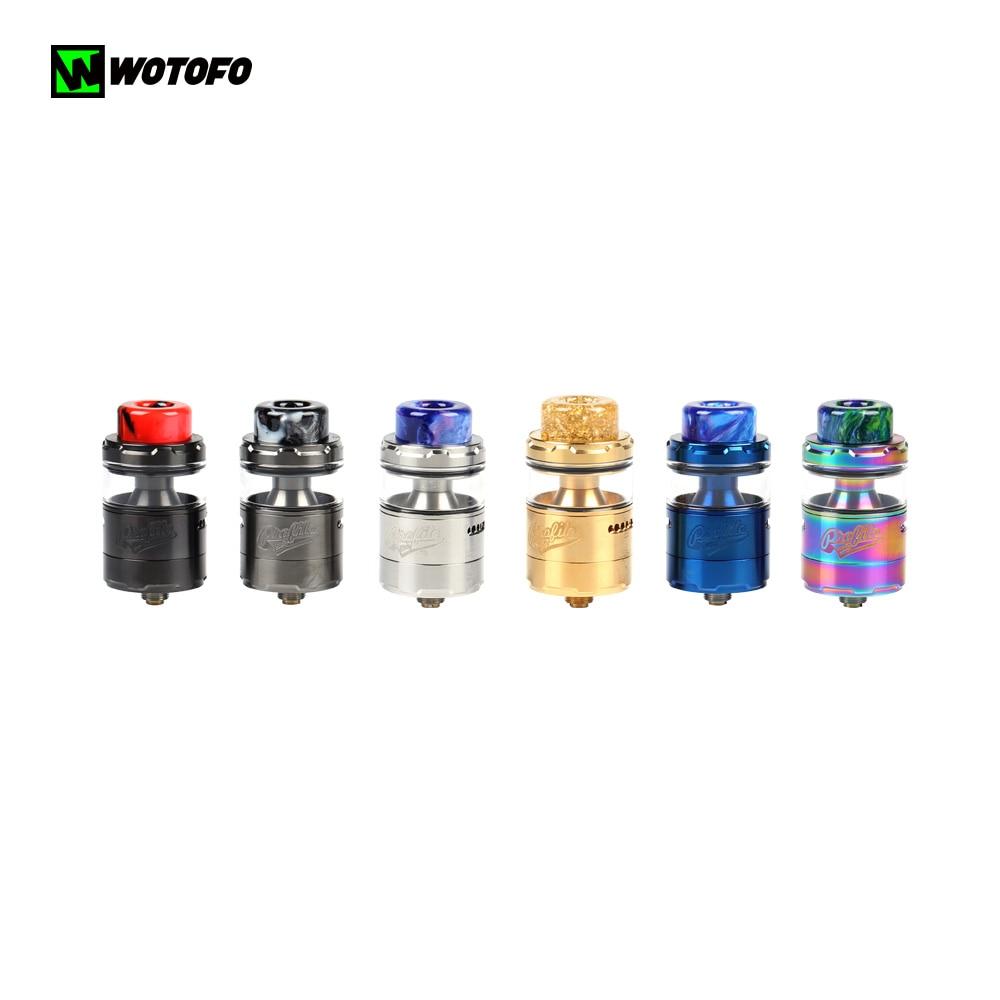 2019 NEW Original Wotofo Profile Unity RTA Atomizer With Profile Cotton Mesh Coil 3.5ML 0.18ohm Vaporizer Dripping 510 Vape Tank