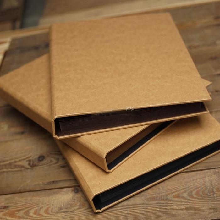 Organe gatefold album A4 manuel DIY kraft papier de type pâte album de noël creative de mariage décoration album photo scrapbooking