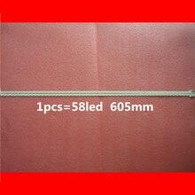 "2Piece/lot   New 55"" LJ64 03374A LJ64 03374B 2012SLS55 7030 58 R/L REV1.2 605mm For Sony LED Backlight Strip"