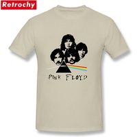 2017 Pink Floyd Merch T Shirts For Mens Short Sleeve Organic Cotton Tee Dark Side Of