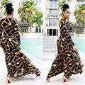 Горячие Продажи Новый Дизайн Моды Традиционных Африканских Одежды Печати Dashiki Приятно Шеи Африканские Платья для Женщин K8155