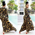 Venta caliente Nuevo Diseño de Moda de la Ropa Tradicional Africana Imprimir Dashiki Bonito Cuello Vestidos para Las Mujeres Africanas K8155