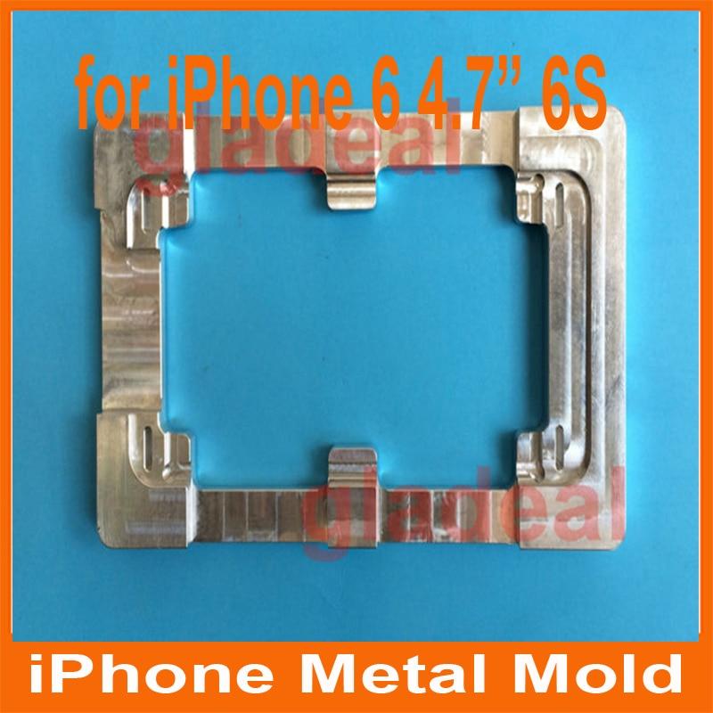 2pcs/lot High Precision LCD Screen Separator Mold aluminium alloy Mould for Iphone 5 6S(4.7) 6 S plus (5.5) Repair Machine Tool high precision lcd screen separator mold aluminium alloy mould for iphone 5 5c 5s repair refubish machine