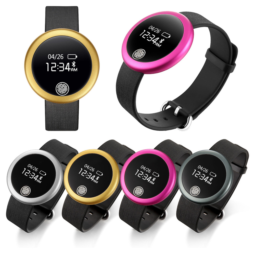 Bracelet Wristband Heart-Rate-Monitor iPhone Waterproof Smart Bluetooth-4.0 Android