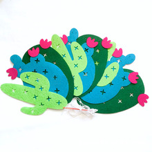 Festive Decorative Animals and Flowers Shaped Party Garland