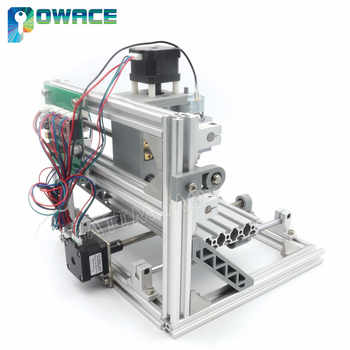 [EU Delivery] DIY 1610 GRBL Control Laser Machine +ER11 CNC Mini Working Area 160x100x45mm 3 Axis Pcb Milling Wood Router