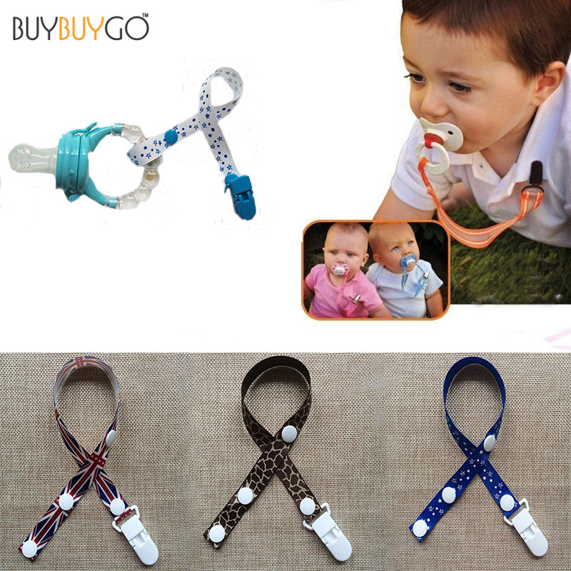 SALE 3pcs Baby Pacifiers Leashes & Cases Nipples Soother Pacifier Clips Chain Funny Colourful Beads Dummy Holder Baby Feeding