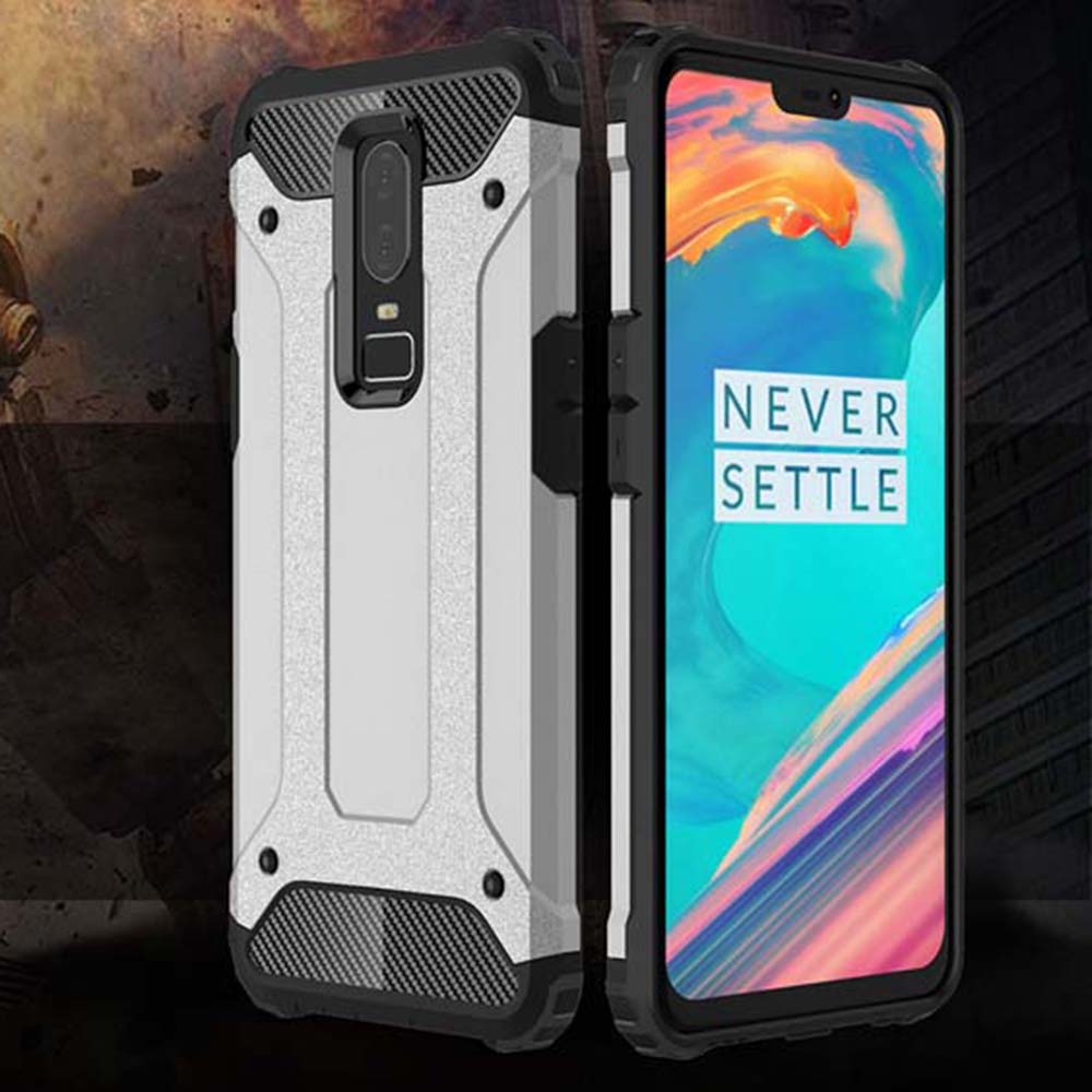 Shockproof Armor Coque <font><b>Cover</b></font> <font><b>6</b></font>.28For Oneplus <font><b>6</b></font> Case For Oneplus <font><b>One</b></font> <font><b>Plus</b></font> <font><b>6</b></font> Oneplus6 A6000 A6003 <font><b>Phone</b></font> Back Coque <font><b>Cover</b></font> Case image