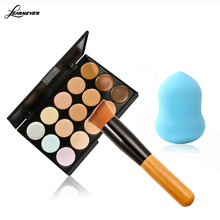 LEARNEVER 1pcs colors professional Concealer Neutral Palette 15 color Makeup tools scar cream Face Foundation Eye Shadow M02617