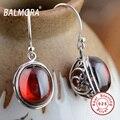 New Retro & Elegante Brincos Real de 100% 925 Sterling Silver Jóias Jacinto Gota Brincos para Mulheres Lady Presentes Bijoux HSJ30154