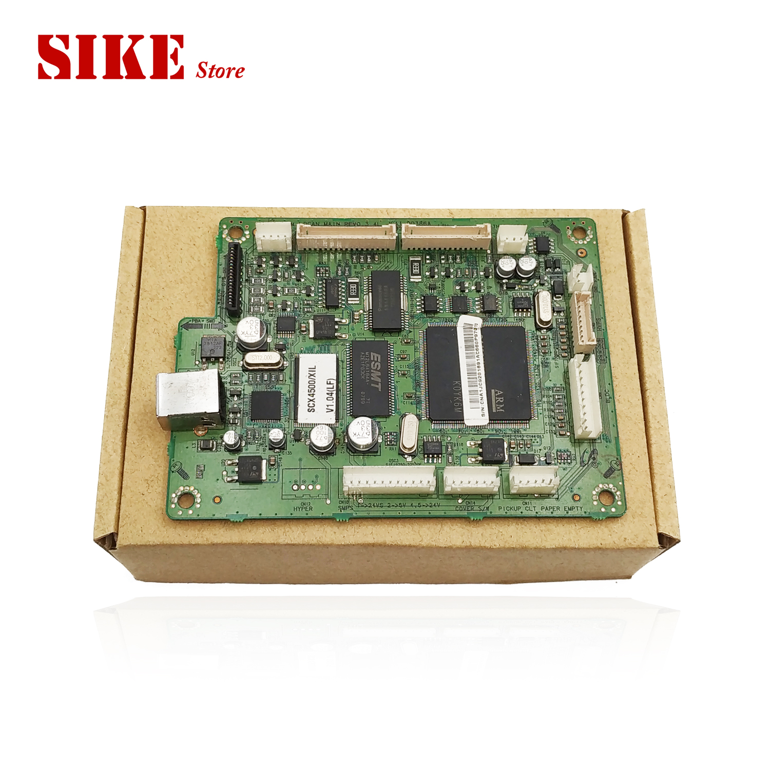 Laser Printer Main Board For Samsung SCX 4500 SCX4500 SCX4500W SCX 4500 4500W Formatter Board Mainboard