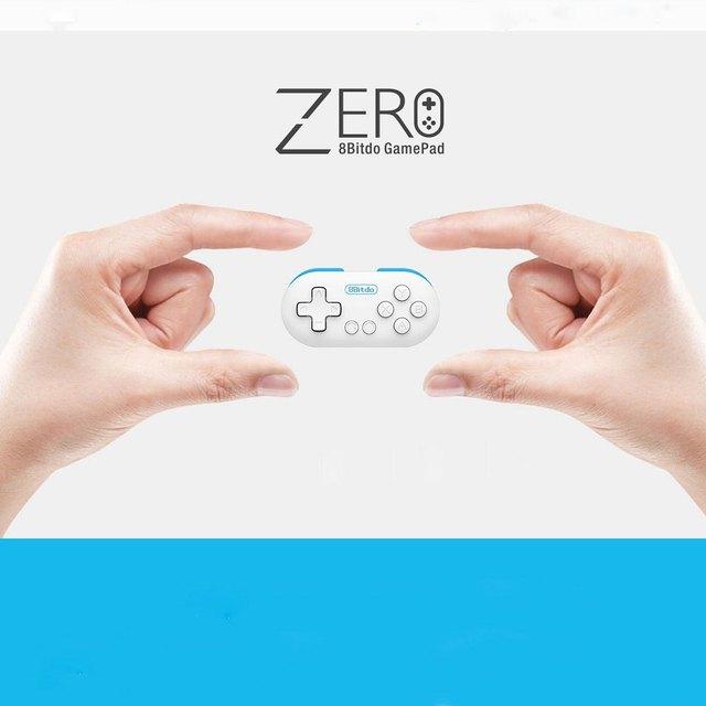 8 bitdo нулевой мини Беспроводной игровой контроллер Bluetooth геймпад джойстик селфи для телефона ПК Пульт дистанционного спуска затвора светодио дный режим индикатор
