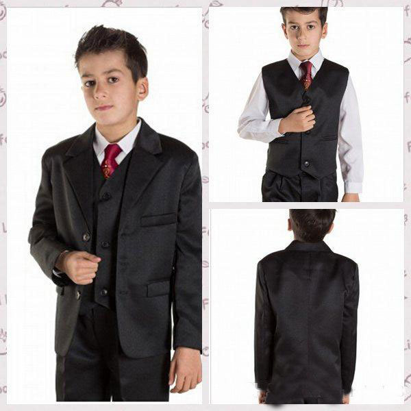 Hot Sell 2016 Tuexdos Boy s Formal Wear Little Boys Peaked Lapel Wedding   Business  Party f4b145e506d7