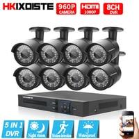 8CH CCTV System 1080N 1080P DVR 8PCS 1 3MP IR Outdoor P2P CCTV Security Camera System