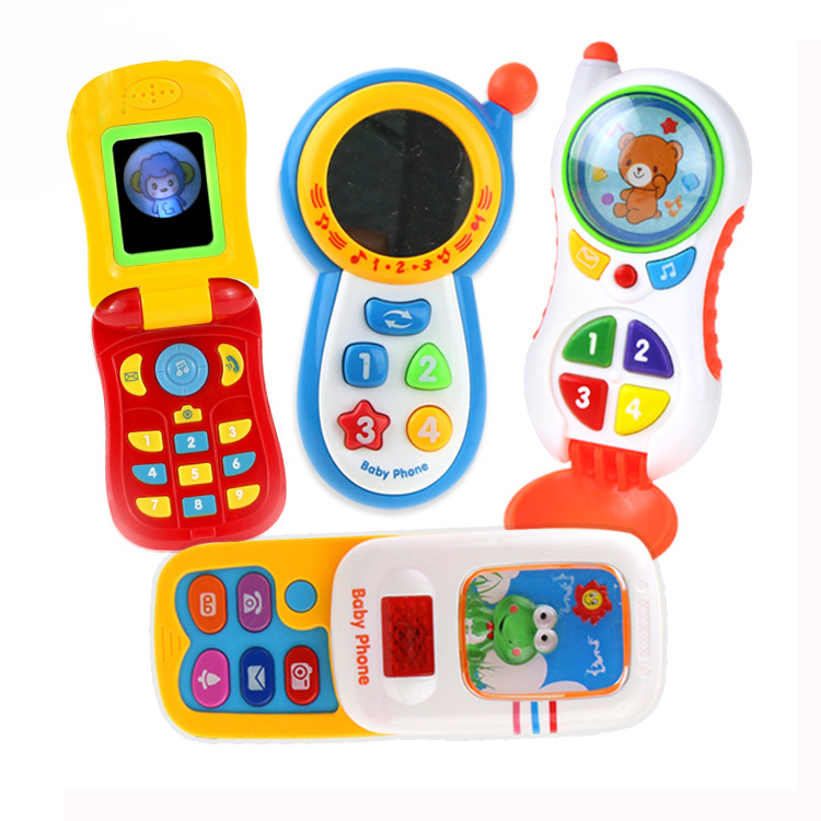 Music fun mobile Phone Toy Play Animal Baby Musical Mobile Toys Educational Cell Phone Mobile Best Prize for Baby Kids Children