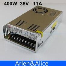 400 Вт 36 В в 11A Один выход импульсный источник питания для CCTV камера светодиодные ленты свет AC к DC SMPS