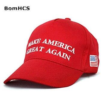 BomHCS Trump hacer América grande otra vez gorras ee.uu. bandera gorra  Casquette d3304c1064d