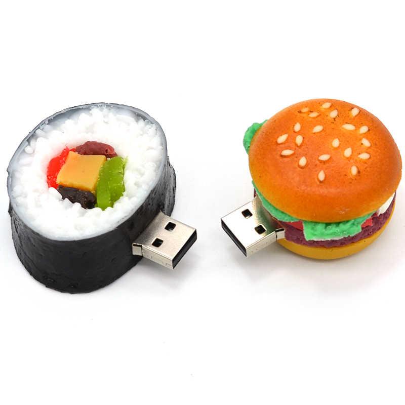 送料無料uディスクペンドライブハンバーガー4ギガバイト/8ギガバイト/16ギガバイト/32ギガバイトusbフラッシュドライブフラッシュメモリスティックペンドライブ
