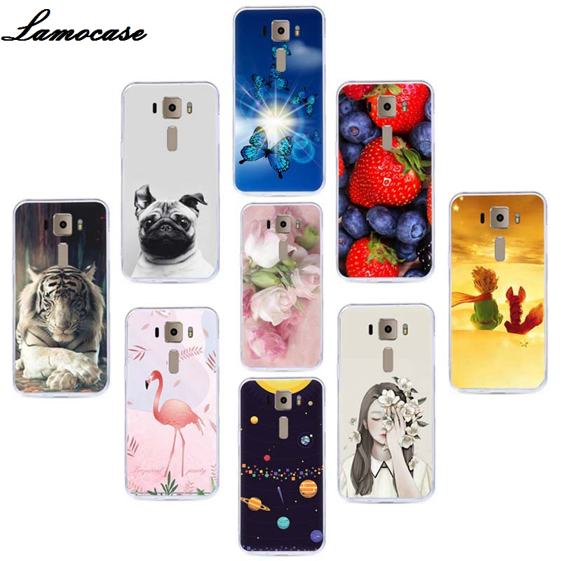 Lamocase Fruit Patterned Phone Case For Asus Zenfone 3 ZE520KL <font><b>ZE</b></font> 520KL <font><b>ZE</b></font> <font><b>520</b></font> <font><b>KL</b></font> Z017D 5.2