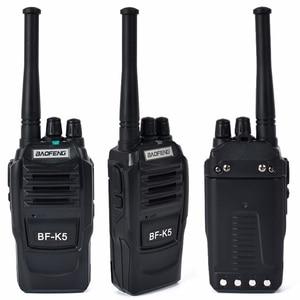 Image 4 - 2 pièces Baofeng K5 jambon Radio talkie walkie 400 470MHz UHF émetteur récepteur 1500mAh 2 voies Radio Amateur Interphone pratique pour la sécurité