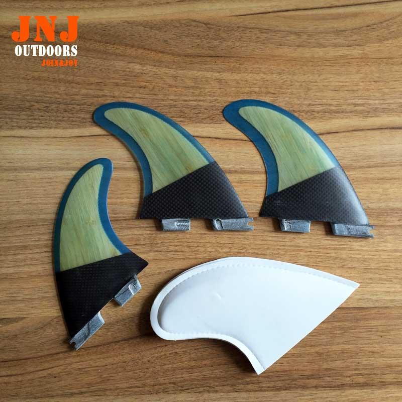 Transporti FALAS shporta të shitura më të larta të karbonit FCS II G5 me tekstil me fije qelqi dhe material bambu për surfing madhësinë FCS 2