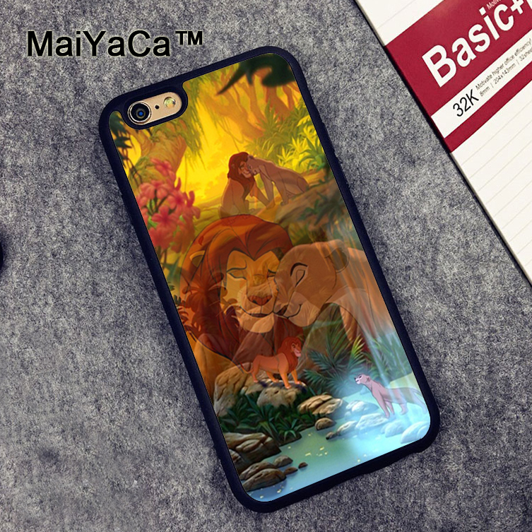 cover iphone 7 lion king