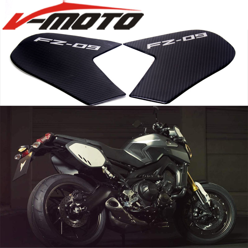 Motorcycle Gas Oil Fuel Tank Pad Protector Decal Sticker For Yamaha Mt-09 Fz-09 Fj-09 2014 2015 2016 Mt09 Fz09 Fj09 Mt Fz Fj 09 Decals & Stickers Motorcycle Accessories & Parts